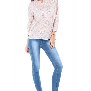 bluza roz imprimata br1174 4782 1