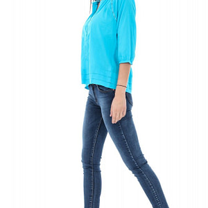 bluza teal casual br1300 5305 1