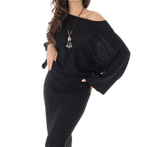 compleu negru roh tricotat dr3679 7953 1