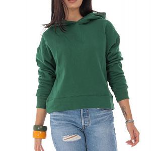 ladies casual sweatshirt roh with hood green br2352 9562 1