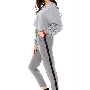 pantaloni alb cu negru tr211 st 6806 1