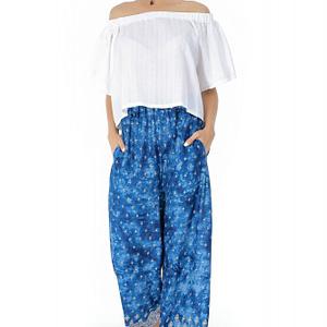 pantaloni albastri roh de vara tr266 7320 1