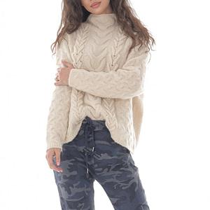 pantaloni armi cu aspect sifonat blue grey roh tr400 9510 1