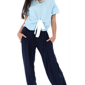 pantaloni bleumarin roh lungi tr278 7379 1