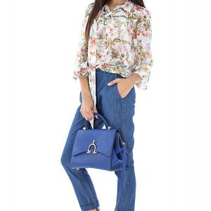 pantaloni clasici din denim tr196 6056 1