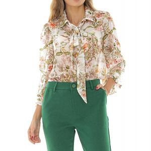 pantaloni clasici verzi roh tr320 8568 1