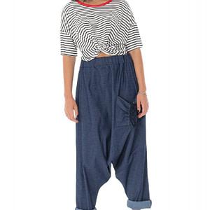 pantaloni harem din denim roh tr397 9455 1