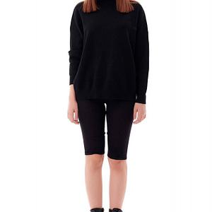pantaloni scurti de dama negru roh tr414 9536 1