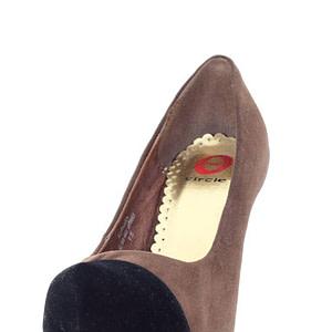 pantofi maro cu varf negru rc aurora 5934 1