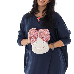 perna roz in forma de melc cu lavanda naturala roh a0436 9497 1