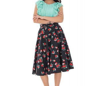 printed floral skirt roh fr483 9384 1