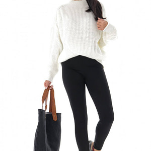 pulover crem tricotat casual roh br2376 9617 1
