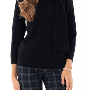 pulover negru roh simplu br1924 7592 1