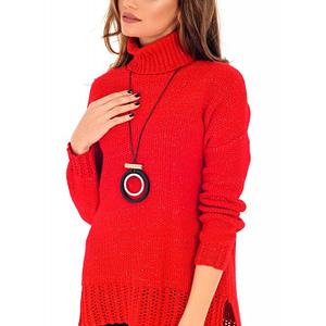pulover rosu roh cu lurex br2004 7950 1