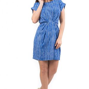 rochie albastra cu dungi cld523 5498 1