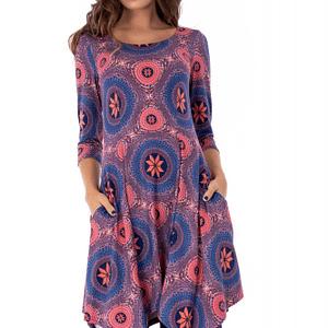 rochie albastra roh in colturi dr3584 7566 1