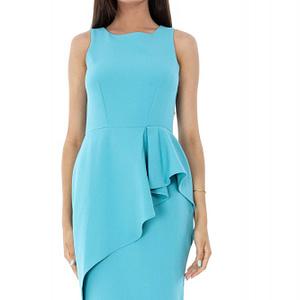 rochie albastra roh stil creion dr3419 7049 1