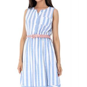 rochie albastru si alb roh in dungi dr3400 7193 1