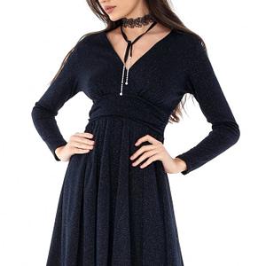 rochie bleumarin de seara dr2712 4908 1