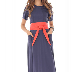 rochie bleumarin din jersey dr2880 5566 1
