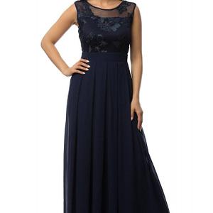 rochie bleumarin eleganta dr3030 5909 1