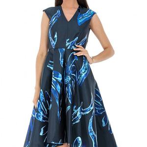 rochie bleumarin roh midi dr3415 7025 1