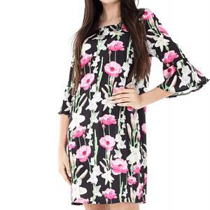 rochie cu imprimeu floral roh lejera dr3317 6822 1