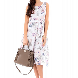 rochie delicata roh imprimeu floral dr3282 6777 1