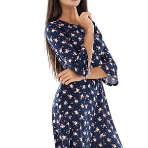 rochie din jersey cu maneci lungi dr3091 6076 1