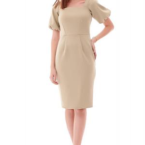 rochie eleganta stil creion vernil roh dr4227 9531 1