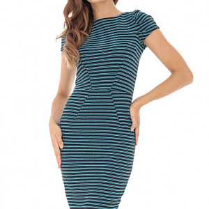 rochie in dungi bodycon roh dr3916 8622 1