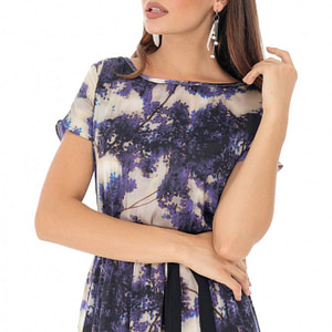 rochie maxi imprimata multicolor roh dr3938 8698 1