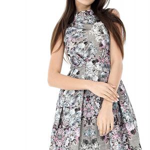 rochie multicolora roh cu imprimeu floral cld921 6880 1