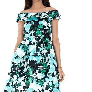 rochie multicolora roh eleganta dr3414 7215 1