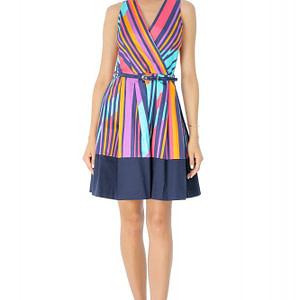 rochie multicolora roh in dungi dr3454 7239 1