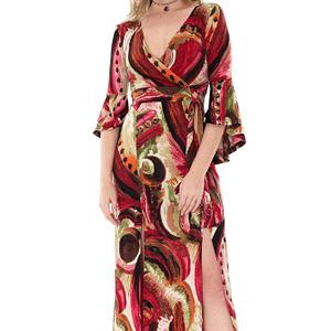rochie multicolora roh maxi dr3389 7134 1