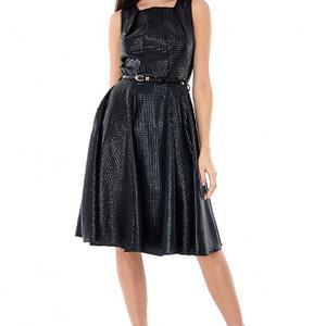 rochie neagra eleganta dr2708 4899 1