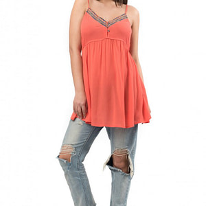 rochie orange de vara dr2866 5531 1