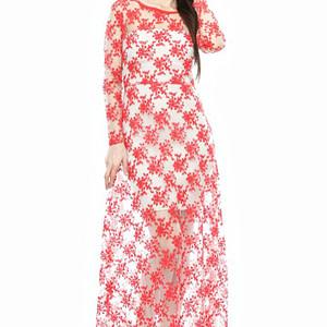 rochie rosie din dantela dr1327 1620 1