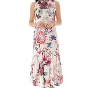rochie roz fara maneci roh dr4204 9495 1