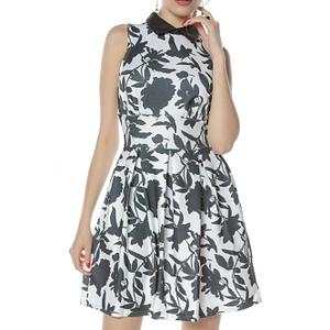 rochie scurta allb cu negru roh cld1135 8334 1