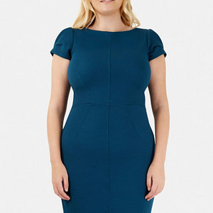 rochie teal roh bodycon cld1029 7695 1