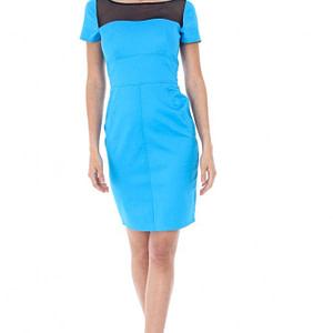 rochie turquaz cu negru cld518 5494 1