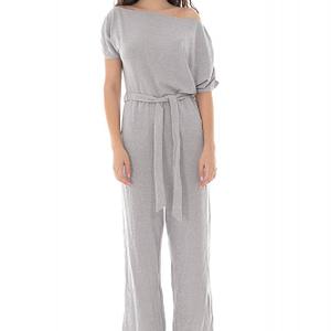 salopeta de dama moale roh gri tricotata tr425 9681 1