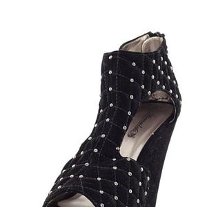sandale negre cu strasuri ls592 28 5943 1