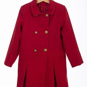 Palton rosu de fetite 1