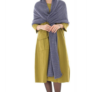 a gorgeous soft blue scarf with a subtle hint of lurex roh a0446 9711 1 e1617436728675