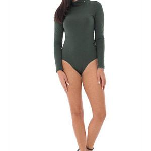 ladies body in fine cotton roh high necked green br2355 9567 1 e1617399587505