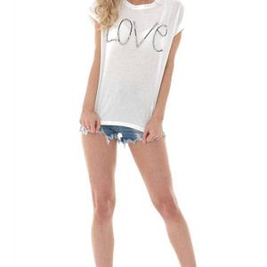 white crew neck love t shirt aimelia br2407 9731 1 e1617437516361