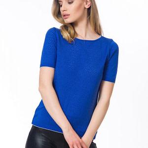 Bluza albastra Royal scaled